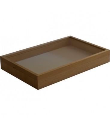 Cette boîte peut aussi être vernie par vos soins. Dans ce cas, nous ne collons pas la mousse.