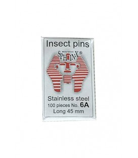 Stainless steel pins N°6 A