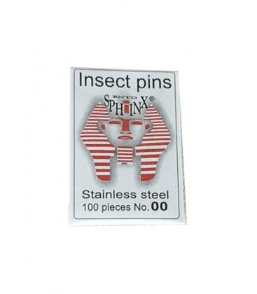 Stainless steel pins N°0