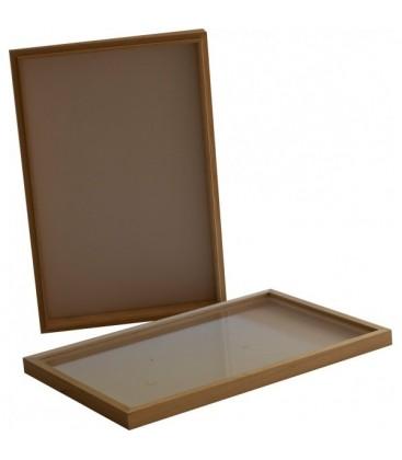 Boîte entomo Bois 39 x 50 x 5,5 cm
